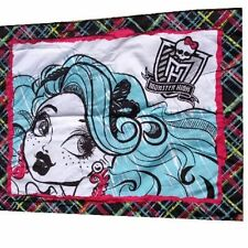 Monster High Pillow Sham pillowcase Original Licensed Mattel ghouls new