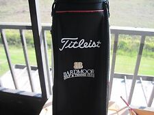 "Titleist Cart Golf Bag ""Bardmoor"" Red, Black and White in EXCELLENT GC 2096"
