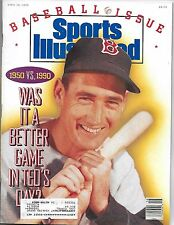 SPORTS ILLUSTRATED - TED WILLIAMS from APRIL 16, 1990