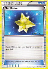 MAX REVIVE 120/146 - XY POKEMON HOLO  TRAINER CARD - IN STOCK NOW!