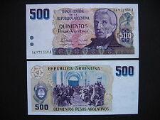 ARGENTINA  500 Pesos Argentinos 1984  (P316a)  UNC