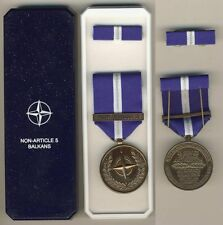 """006 Medaglia NATO Operazioni in Yugoslavia """"Non-Article 5 BALKANS"""""""