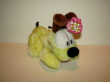 """Garfield Odie Dog Plush Stuffed Doll Animal 9"""" with Tag PAWS Play by Play"""
