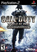 Call of Duty: World at War - Final Fronts - Playstation 2 Game Complete