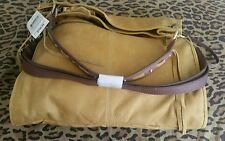 Lucky Brand NWT Beautiful Diego Leather. Yellowstone Fold Over Bag. Review Pic.