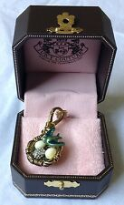 ***CLEARANCE*** Retired and Rare Juicy Couture Bird's Nest with Eggs Charm