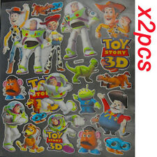 2x Disney Toy Story Woody 3D Graphic Decal Sticker Set