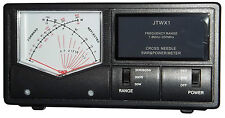 Jetstream JTWX1 - CROSS NEEDLE SWR Meter 1.8 - 200 MHZ,  For Up to 3000 Watts!