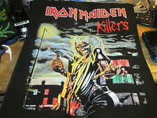 IRON MAIDEN COLLECTABLE RARE VINTAGE BACKPATCH BACK PATCH 2011 EDDIE ORIGINAL