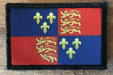Royal Arms of England Shield Morale Patch Tactical Military Hook Badge Army Flag