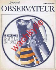 Le nouvel observateur 87- 13/07/1966 Sonny and Cher Vallès Guilemain Ian Paisley
