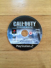 Call of Duty: Finest Hour for PS2 *Disc Only*