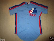 Montreal Expos 1988 MLB Game Worn Used Rawlings Jersey 50 Vintage