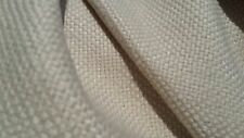 BUTTERY BEIGE STRAW  WOVEN COTTON BLEND UPHOLSTERY FABRIC
