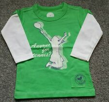 Wimbledon Championships girls long sleeve TShirt Top. Size 8-10 years. BRAND NEW