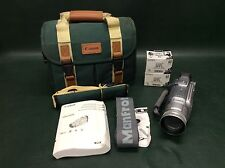 Canon Optura Xi MiniDv Camcorder VCR Player Video w/ Bag, Guide Book, Bundle