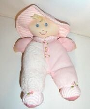 CLOTH LOVIE BABY DOLL THERMAL WAFFLE PINK 10""
