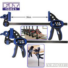 """FIT  Quick-Grip Bar Clamp/ Handy Bar Workbench Spreader  12""""  0~300mm Bis 180 kg"""