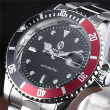 Luxury Sewor Dress Mens Date Automatic Mechanical Wrist Watch Stainless Steel