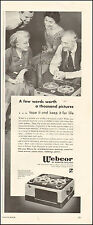 1953 Vintage ad for Webcor`Tape recorder`retro photo (010716)