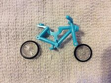 New Lego Friends Medium Azure Blue Bicycle Complete from set 41095 Emma's House