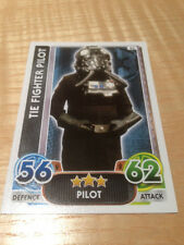 STAR WARS Force Awakens - Force Attax Trading Card #044 TIE Fighter Pilot
