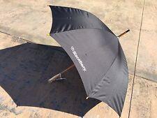 *RARE* BlackBerry (RIM) Logo Deluxe Auto-Open Umbrella (BLACK) * Promo * SWAG *