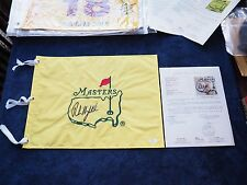 PHIL MICKELSON signed UNDATED THE MASTERS OFFICIAL PIN FLAG AUGUSTA PGA TOUR JSA