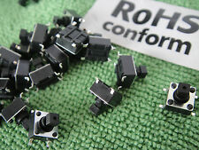 10pc SMD SMT Square Momentary N/O+N/C Push Button Tactile Tact Switch 6x6x7.3mm