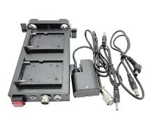 DSLR Rig NP-F970 / F550 Mount  Battery Power Supply System For Canon 5D2 60D 7D