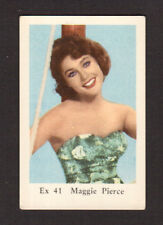 Maggie Pierce My Mother The Car 1960s Movie Film Star TV Card from Sweden #EX41
