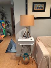 Gerald Thurston for Lightolier Tripod Lamp Vintage Mid-Century Modern