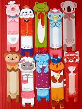 10X Animals Paper Bookmark Stationery Souvenir Collection Kids Gift FREESHIPPING
