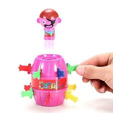 Kids Children Funny Game Lucky Stab Gadget Jokes Tricky Spoof Pirate Barrel Toy