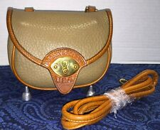 *Dooney & Bourke* All Weather Leather *Cavalry Cross Body Bag*Taupe*Purse*