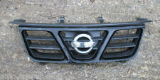 NISSAN X TRAIL 2.0 2.2 2.5 FRONT PLASTIC GRILL GRILLE * BLACK * 2001 - 2004 FIT