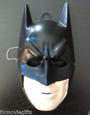 DC Batman Black PVC 1/2 Mask Licensed 3018 New