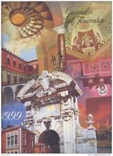 1999 CALENDARIO GUARDIA DI FINANZA