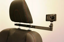 RacerMount in-car headrest camera mount for track