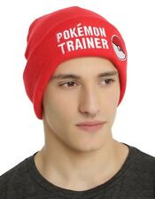 Pokemon Go Master Trainer Pokeball Beanie Hat Knit Ski Cap Cosplay New With Tags