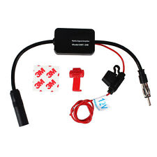 ANT-208 Car Inline Antenna Aerial Radio FM Signal Booster Amplifier Amp 1pc