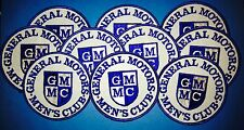 10 Lot Rare Vintage 70's General Motors Men's Club Car Seatcovers Jacket Patches