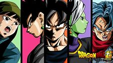 Poster 42x24 cm Dragon Ball Super Goku Black Evil Goku Trunks Mai