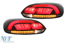 LED Taillights VW Scirocco III 3 08+ Light Bar Design Red Smoke  Tail Lamps ..