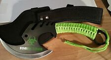 Survival Security Zombie Knife Fishing Tackle Camo Ax