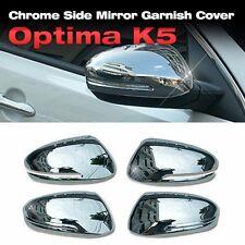 Chrome Side Mirror Cover Garnish Molding L+R for KIA 2011 -2015 Optima / K5
