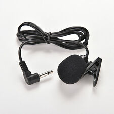 3.5mm Mini Studio Speech Microphone Mic Clip On Lapel for PC Desktop Notebook