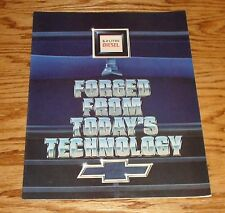 Original 1984 Chevrolet Truck 6.2 Liter Diesel Sales Brochure 84 Chevy Pickup