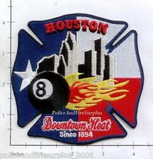 Texas - Houston Station 8 TX  Fire Dept Patch - Downtown Heat
