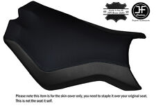 BLACK STITCH CUSTOM FITS KTM SUPERDUKE 990 R 07-14 FRONT SEAT COVER DESIGN 2